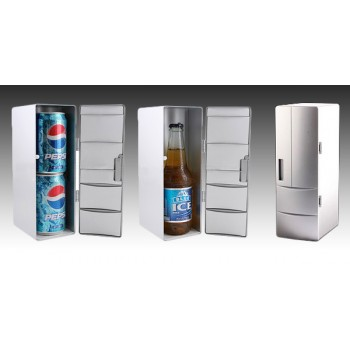 Mini USB Fridge - It COOLS and WARMS your drinks.