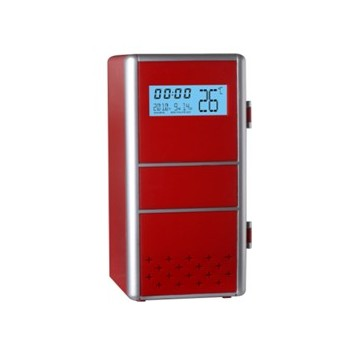 Mini USB Fridge Deluxe (With LCD Clock)