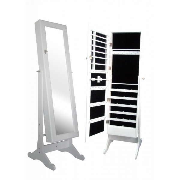 Ultimate jewelry mirrored cabinet ultimateselfcare - Armoire a bijoux avec miroir ...