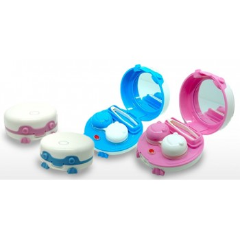 Cute Robotic Automated Contact Lens Cleaner Kit