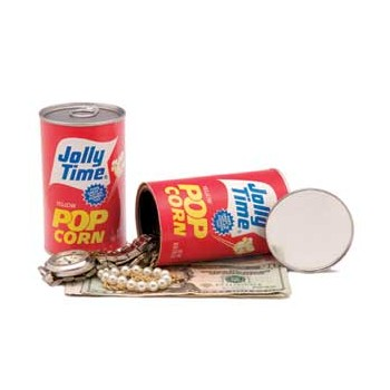 Jolly Time Popcorn Can Safe