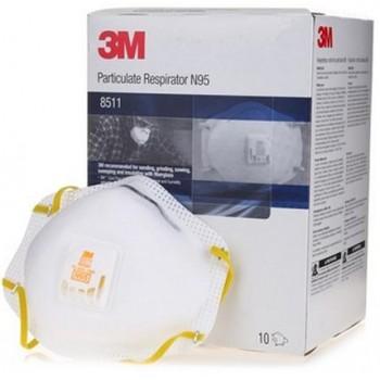 3M N95 8511 Respirator Mask