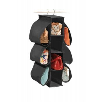 Ultimate Hang N Store Handbag Organizer - 10 Pockets