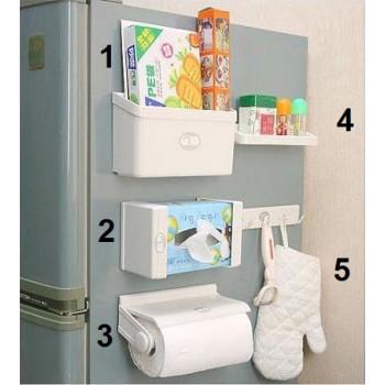 Ultimate Magnetized Kitchen Organizer – 5 Pcs Set