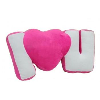 I Love U Cushion