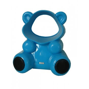 Bear USB Fan (Without Blades) - With Built in Speakers